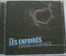 LES ENFOIRES DANS L'ESPACE - LES ENFOIRES (CD x2)  NEUF SCELLE