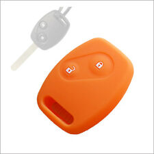2 Button Car key silicone shell cover  Honda Accord Civic Fit CRV Odyssey CITY