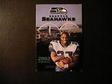 Seattle Seahawks 2002 NFL pocket schedule - Home Depot