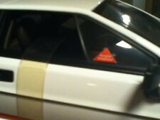 James Bond 007 BURGLAR PROTECTED & LICENSE Decals ONLY for Lotus Esprit Autoart