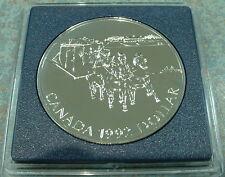 CANADA 1992 UNCIRCULATED  SPECIMEN ***SILVER DOLLAR***