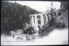 FRANCE~1900s CHAMONIX~Chemin de fer~ RR TRAIN