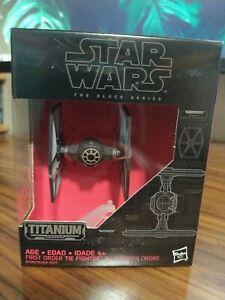 Star Wars Black Series Titanium | #13 First Order Tie Fighter | Die-Cast Vehicle