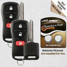 2x Car Transmitter Alarm Remote Control for 2005-2015 Nissan Xterra Key