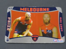 2019 AFL TEAMCOACH PRIZE CARD MELBOURNE MAX GAWN