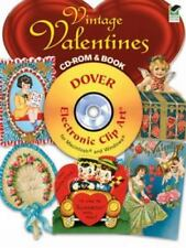 Vintage Valentines CD-ROM and Book Dover Electronic Clip Art