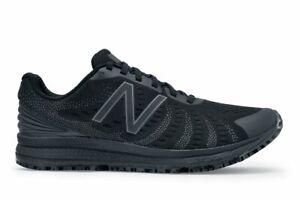 New Balance Shoes For Crews Slip Resistant FuelCore v3 Men/Women Black Sneaker