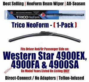 (Qty 1) Premium NeoForm Wiper fits 2002+ Western Star 4900EX - 16200