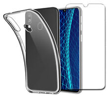 Case for Samsung Galaxy A40 Front and Back 360 Cover + Glass Screen Protector