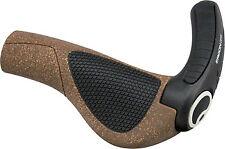 New Ergon GP3-S BioKork Small Grips Cork/Black