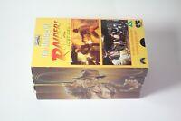 Vintage Indiana Jones VHS Trilogy & Making of, 1984. Harrison Ford.