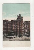 Cleveland Ohio Hollenden Hotel USA 1909 Postcard 886a