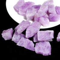 100g Natural Kunzite Gemstone Rough Stone Crystal Specimen Spodumene Mineral Lot
