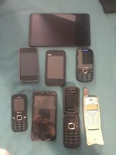 Lot of 7 phone 1 ipod .1st iphone ,verizon,samsung,lanix,ZTH,AND MORE