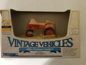 Ertl Vintage Vehicles Allis Chalmers Model C 1/43 Scale Die-Cast Replica