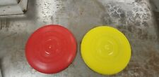 1966 Vintage Red and Yellow Wham-O Regular Frisbee Flying Disc 1966