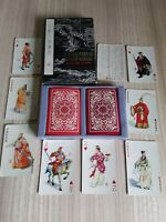Vintage Characters In Water Margin Vintage Playing Cards (Red Edition) 2 decks