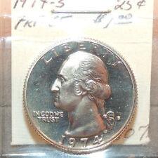 1974s Proof 65 Washington Quarter 25c USA coin (11517a2)