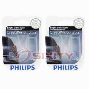 2 pc Philips Front Side Marker Light Bulbs for Saab 9-2X 9-3 9-3X 9-5 900 vt