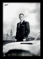 James Bond & Aston Martin DB5 Skyfall - Framed 30 x 40 Official Print