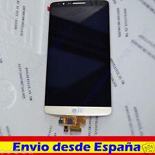Pantalla Schermo Ecran Display Completa para LG G3 D855 ACQ87190303 Oro