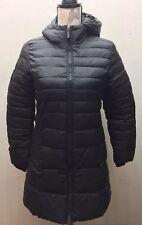 Zara Girl Kid Long Puffer Jacket Coat Winter Black 11/12 Outer Wear Hoodie Parka