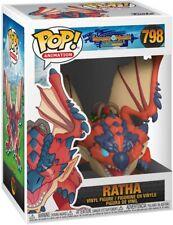 FUNKO POP! ANIMATION: MONSTER HUNTER - RATHA 798 46937 VINYL FIGURE NEW IN STOCK