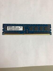 ELPIDA EBJ10UE8BDF0-AE-F PC3-8500U 1GB DDR3.