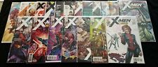 Lot of 20 MARVEL X-Men Gold 1-3 5-8 10-13 15-22 w/ Variants & Lenticular VF-M