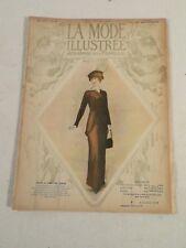 La mode Illustrée Journal de la Famille ~ Womens Fashion & Lace ~ April 1913
