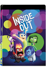 Inside Out .Blu-ray Steelbook 2D + 3D Combo Lenticular Edition