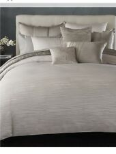 Donna Karan Reflection Duvet, Full/Queen Silver msrp $440