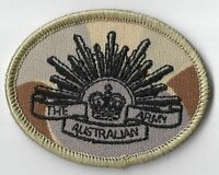 Army Australian DPDU Rising Sun Biscuit Patch