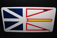 NEW FOUNDLAND AND LABRADOR FLAG CAR LICENSE PLATE TERRE-NEUVE ET LABRADOR