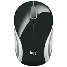 Logitech M187 Wireless Mini Mouse Pocket Portable Sized Black
