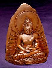 Buddha Smokey Quartz Excellent Handmade,Nepal approx. 263,0g 83x62x52mm,Healing