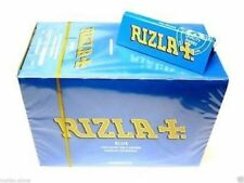 100x Blue Rizla Regular Cigarette Rolling Papers 100% Genuine Rizzla Full Box UK