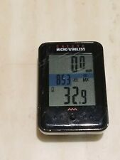 Cateye Micro Wireless Cycling Bike Computer Speedometer CC-MC200W Black.Works.