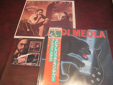 AL DI MEOLA Splendido Hotel COLUMBIA C2X 36270 2LPS + JAPAN MINT RENDEZVUOS +CD