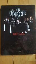 The Gazette Decade 10th Anniversary Photobook