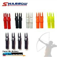 30Pcs Archery Arrow Nock for ID6.2mm Carbon Arrow Shaft Hunting Camping Shoot