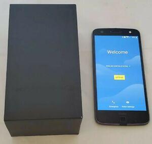 Motorola Moto Z Force Droid - 32GB - Black/Lunar Grey (Verizon) Unlocked ***READ