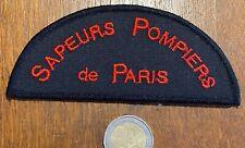 ECUSSON PATCH SAPEURS POMPIERS DE PARIS (ÉCU 28) TRÈS RECHERCHÉ !!