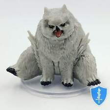 Snowy Owlbear - Icewind Dale Rime of Frostmaiden #28 D&D Miniature