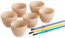 Ceramic Candy Melting Cups and Brushes from Wilton #1067 - NEW