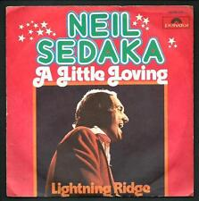 "Neil Sedaka : A little loving / Lightning Ridge - vinile 45 giri / 7"" - 1974"