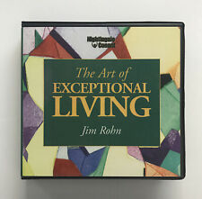 The Art of Exceptional Living by Jim Rohn ( 6 Disc Audio CD Set) AudioBook