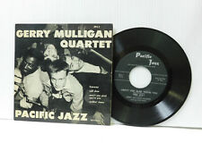Gerry Mulligan Quartet jazz 45 PS Freeway + 3 Pacific Jazz