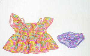 Build a Bear Tropical Fruit Sun Dress for 16 Inch Plush