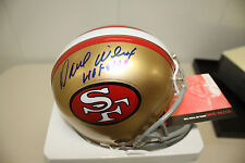 SF 49ERS MINI HELMET SIGNED BY DAVE WILCOX HOF 2000